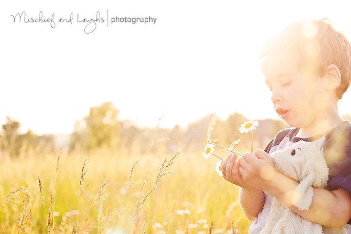 Love & Light & Lambie - Northern KY Child Photographer