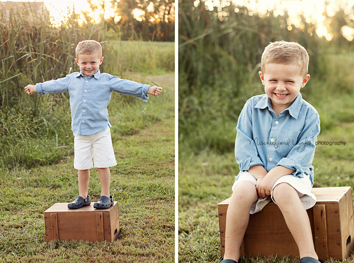 Four year old portraits in Cincinnati