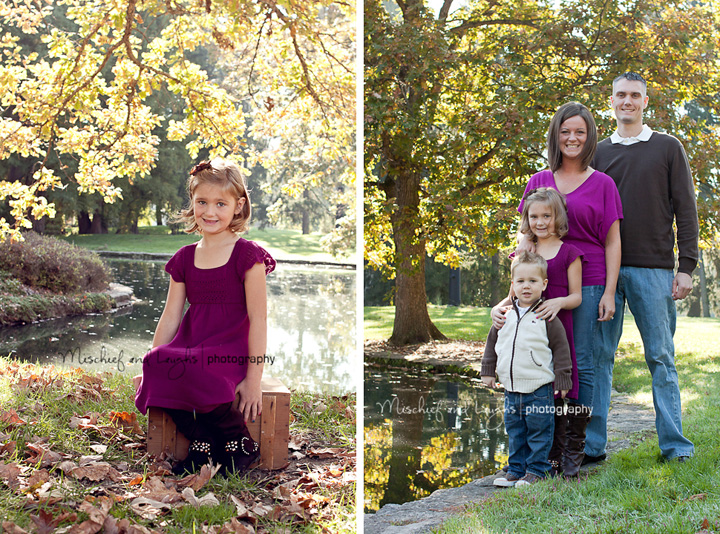 Cincinnati child and family photographer Spring Grove