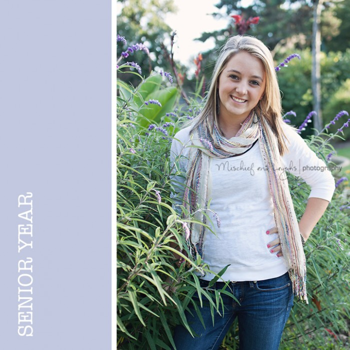 Senior photographer for Cooper High School