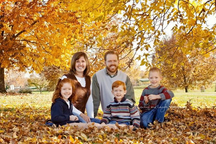 Colorful Fall Family {Cincinnati Family Photographer}