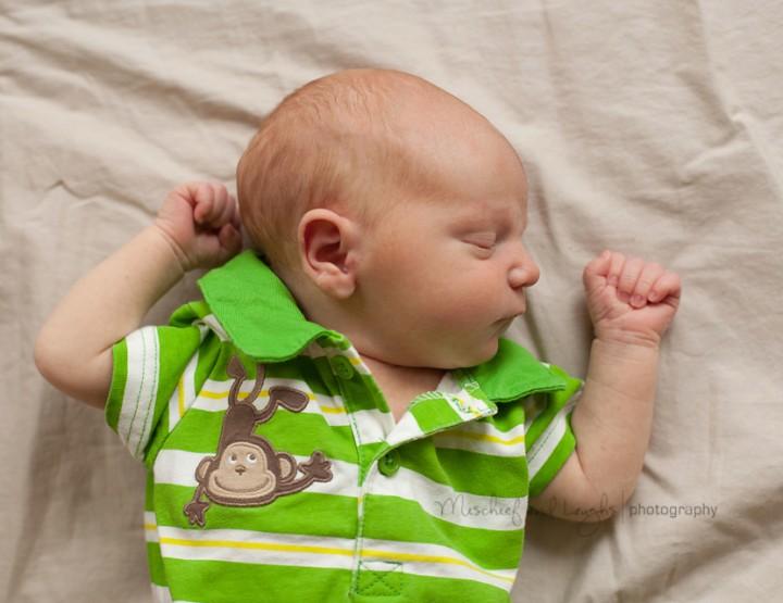 Big Brother Adores Him {Cincinnati Newborn Photographer}