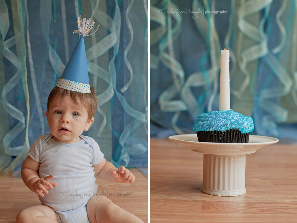 first birthday pictures at professional photo studio