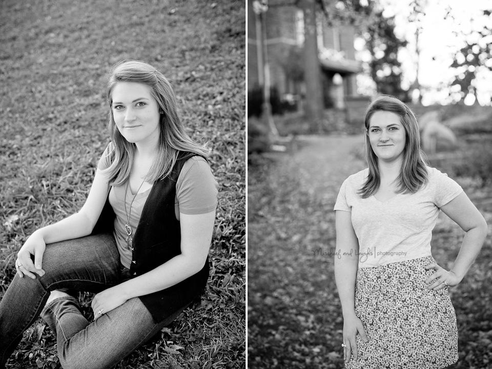 senior portraits at devou park