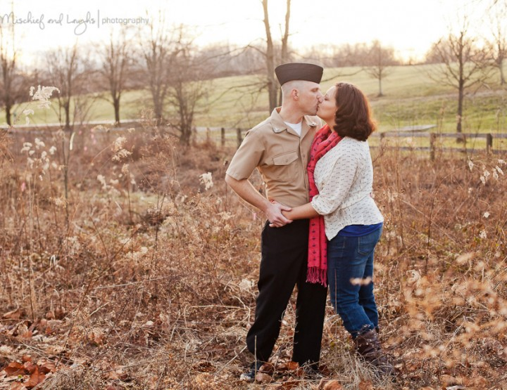 Nothing Between Them {Cincinnati Couples Photographer}