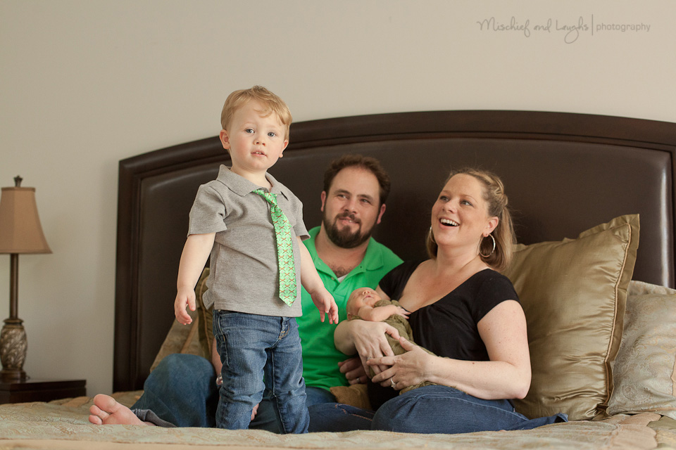 in-home lifestyle sessions are perfect for growing families