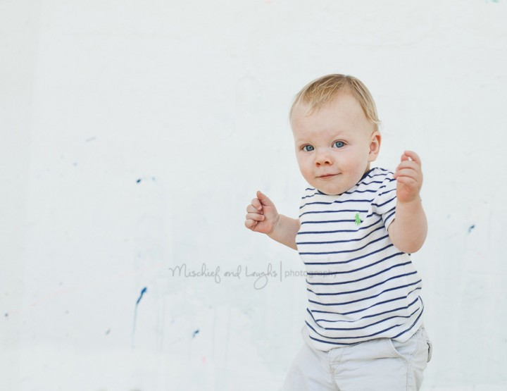 Busy {Cincinnati First Birthday Photographer}
