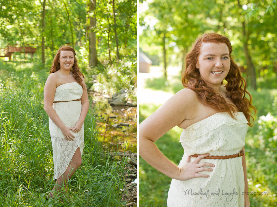 northern KY outdoor senior pictures