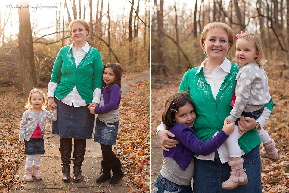 Mom and children, Mischief and Laughs Photography, Cincinnati #photography #posing