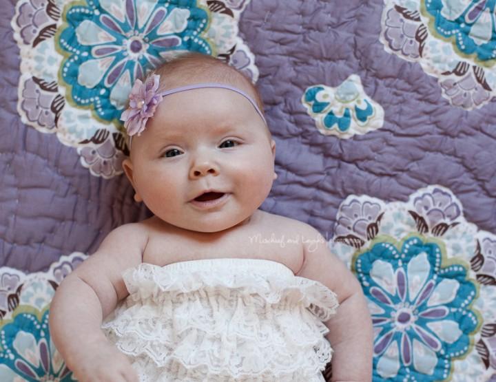 Ella, 3 Months, Cincinnati Baby Photographer