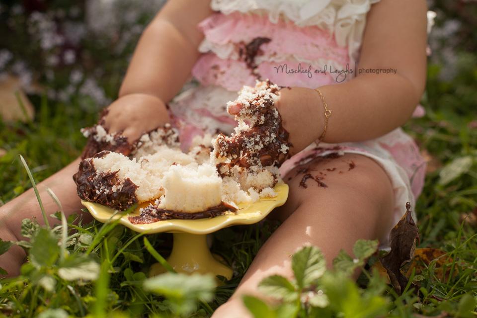 Outdoor Cake Smash Ideas, Vintage lace; Mischief and Laughs, Cincinnati OH