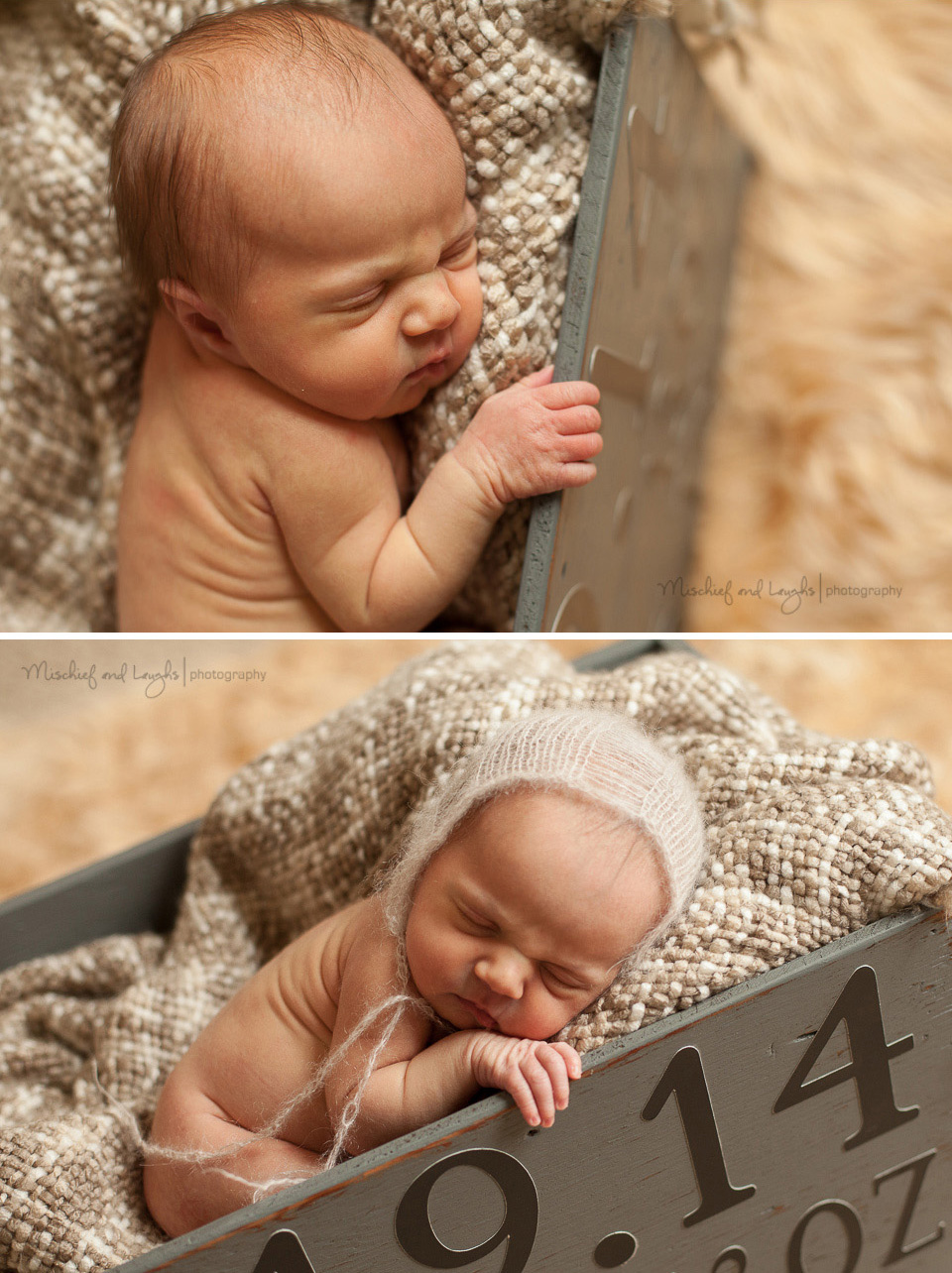 Newborn Photography. Mischief and Laughs Photography, Cincinnati OH