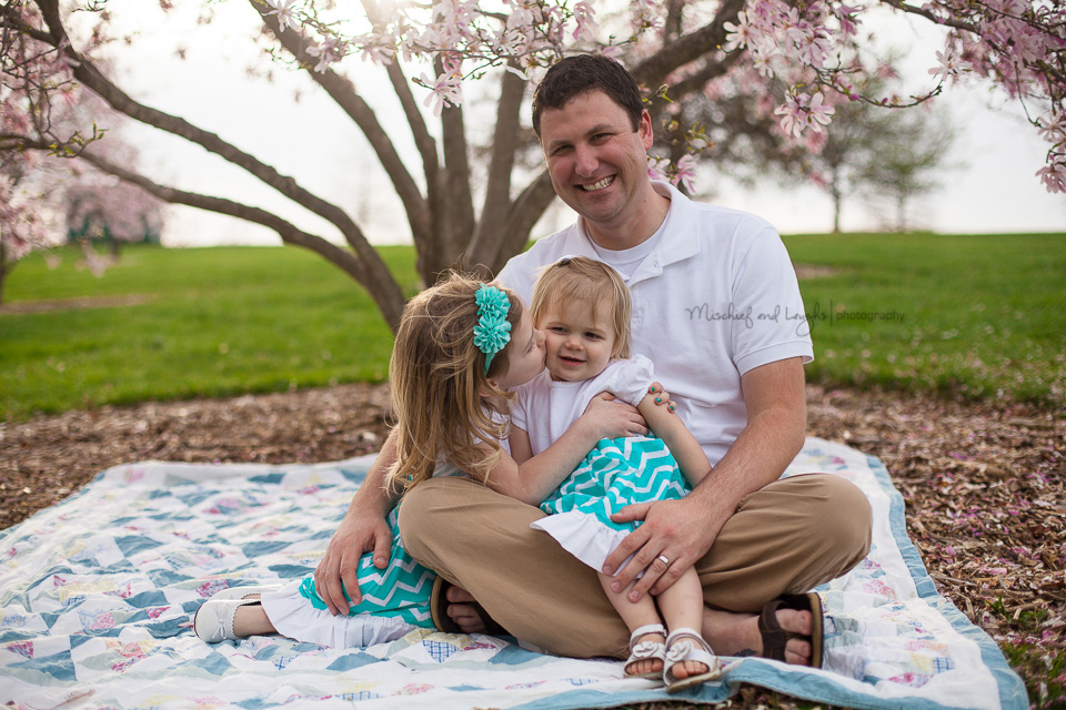 Daddy and Daughters, Mischief and Laughs Photography, Northern KY