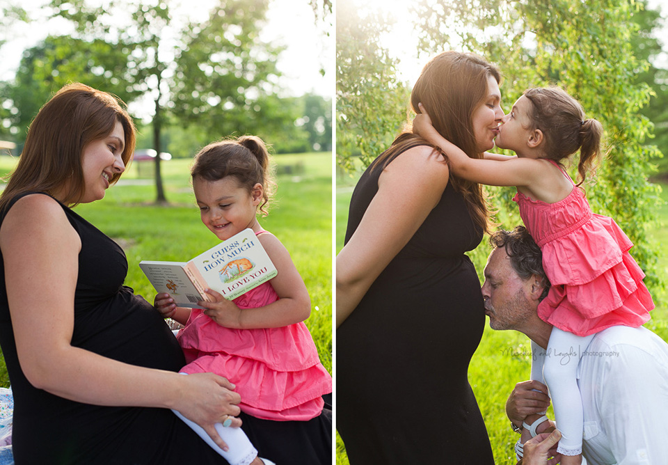 Maternity posing ideas, Mischief and Laughs, Cincinnati Maternity Photography