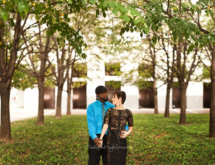 Love in the Queen City, Downtown Cincinnati Engagement Photos