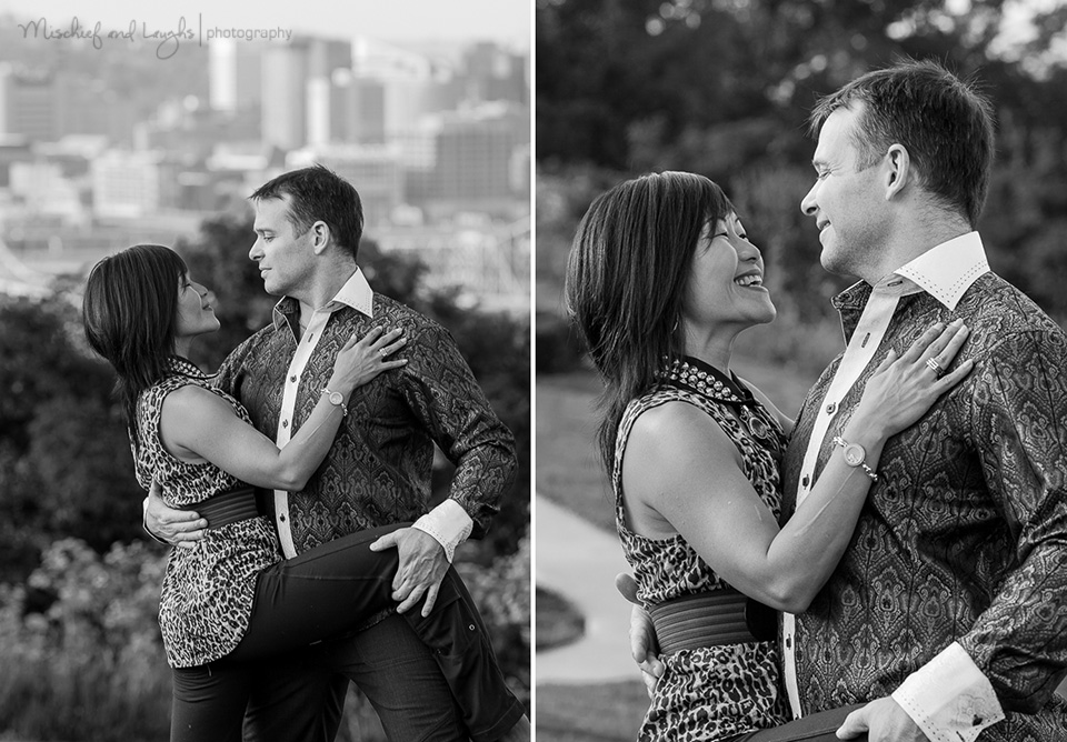 Couple dance photo ideas, Mischief and Laughs, Cincinnati OH
