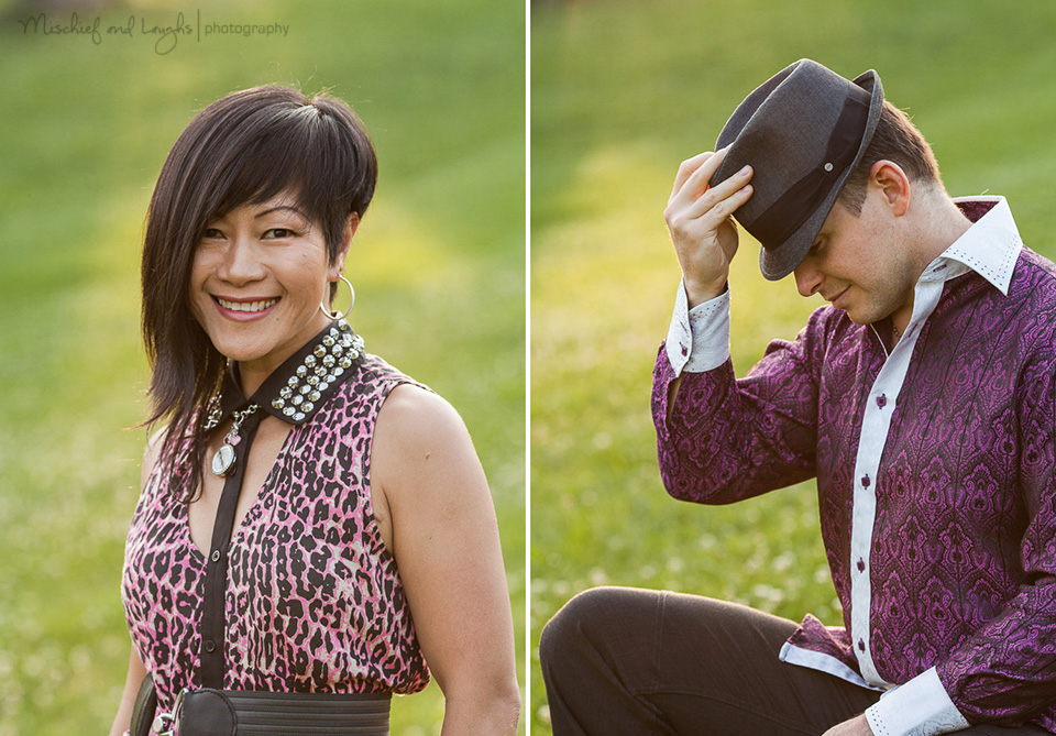 Outdoor Headshot photos, Mischief and Laughs, Cincinnati