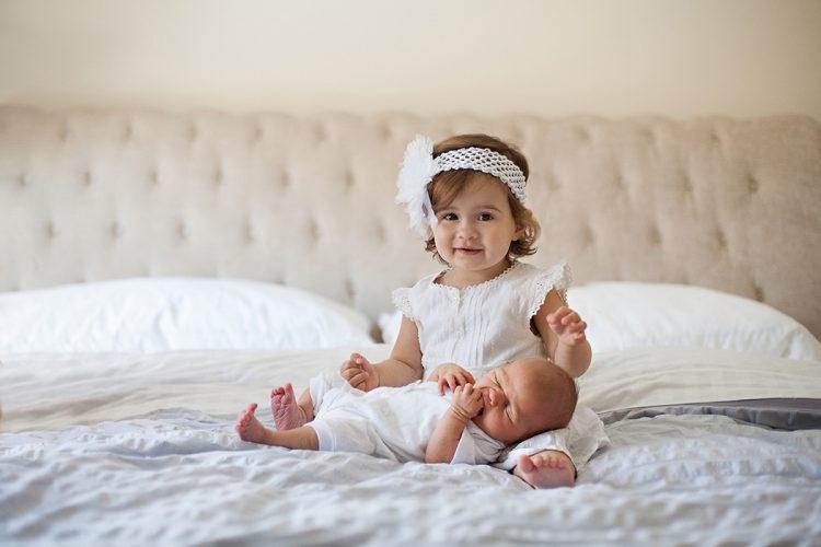 newborn photos with big sister, Canandaigua NY