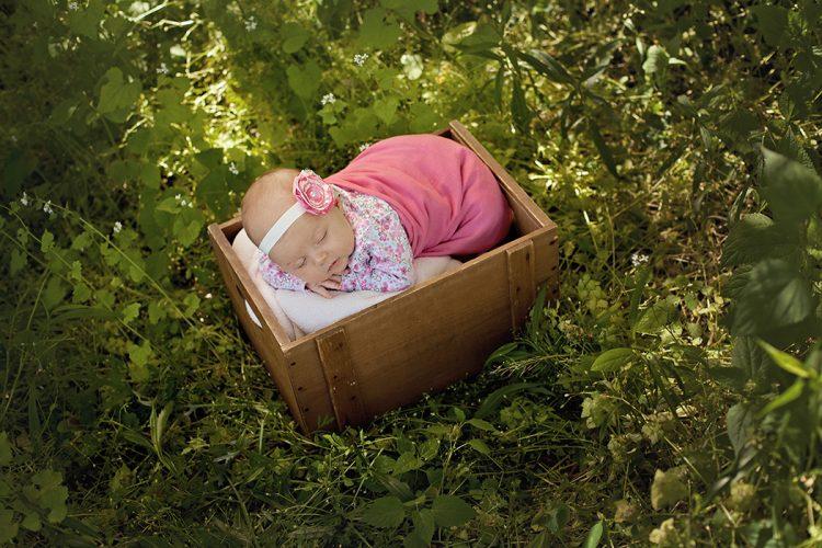 outdoor newborn photos finger lakes NY