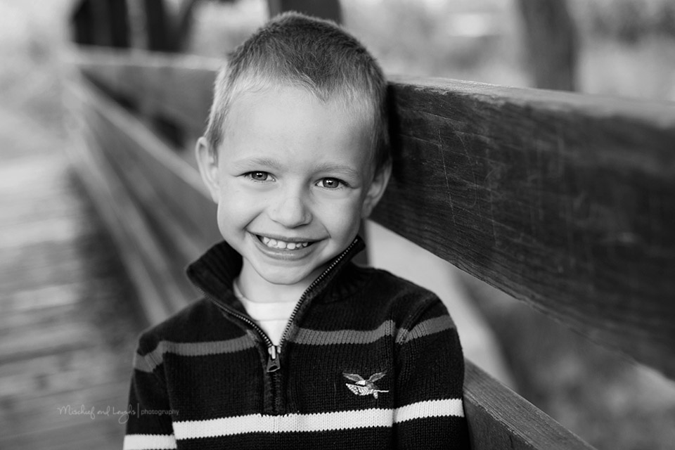 Classic children's portraits in black and white