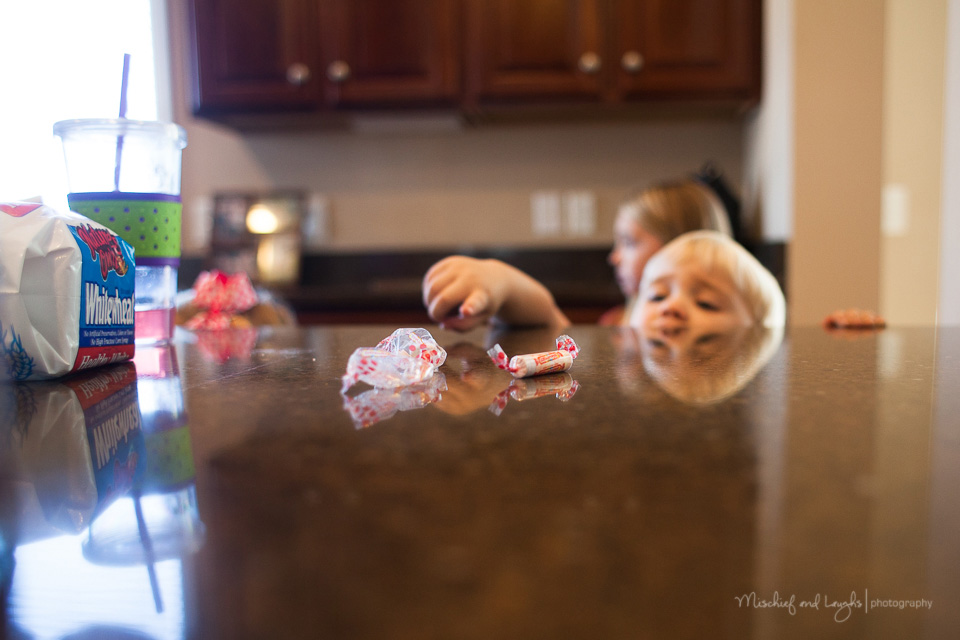 Lifestyle Photography session in client's home, Mischief and Laughs, Cincinnati