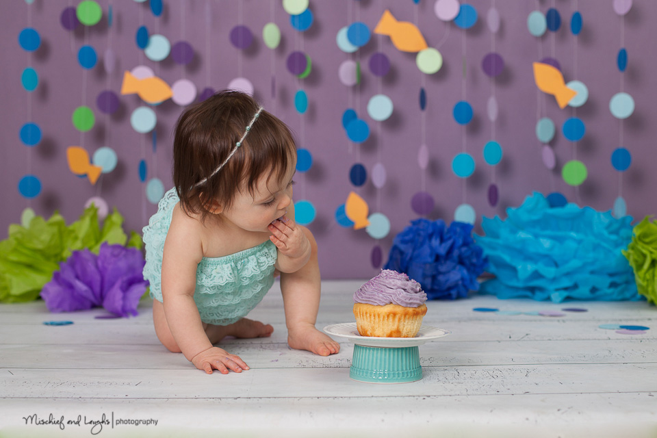 cake smash first birthday pictures