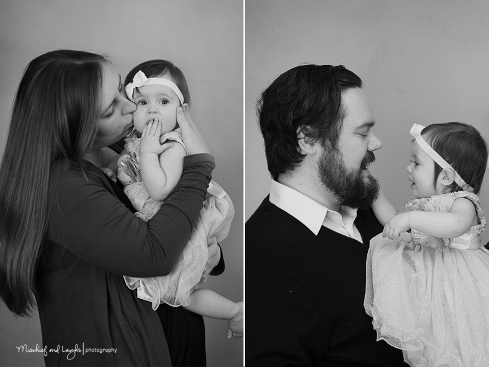 First birthday in the studio, Mischief and Laughs Photography, Cincinnati OH