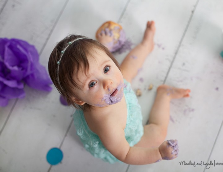 Little Fish, Northern Kentucky Cake Smash Photographer