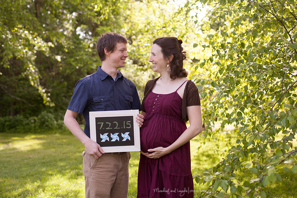 Maternity session prop ideas, Mischief and Laughs Photography, Cincinnati OH