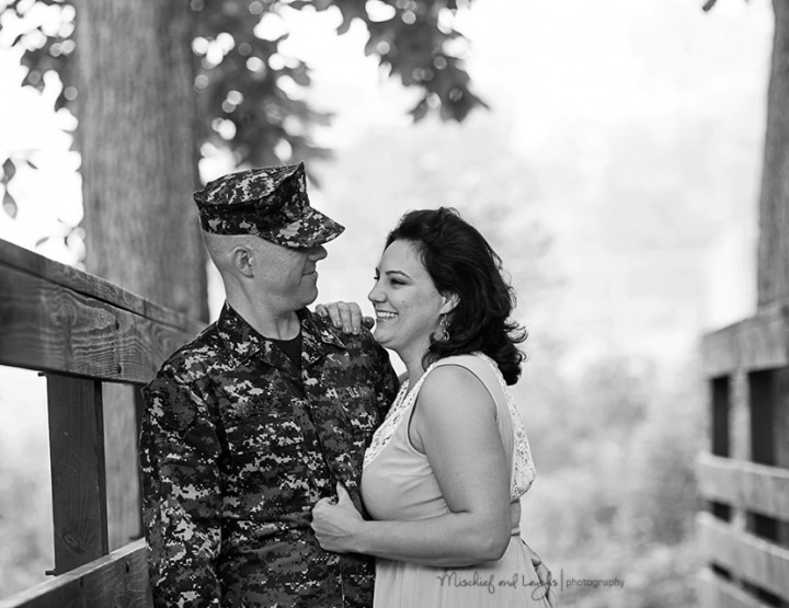 Love Will be Waiting, Cincinnati Military Photographer