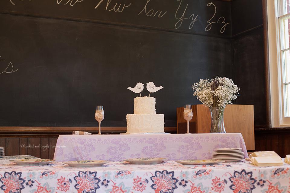 Vintage Schoolhouse wedding, Finger Lakes NY