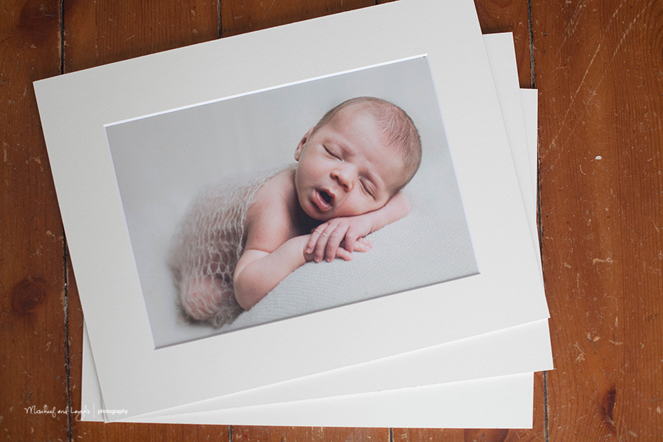 Matted Print Image Box, Canandaigua NY Newborn Photographer