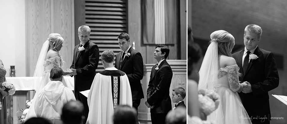 Wedding Ceremony pictures, Rochester Wedding Photographer, Mischief and Laughs photography