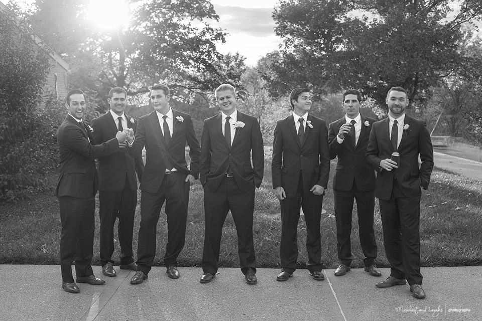 candid wedding pictures, Rochester Wedding Photographer, Mischief and Laughs photography