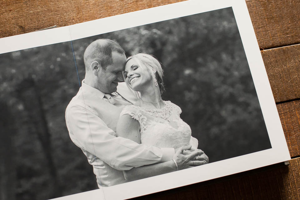 wedding album finger lakes photographer
