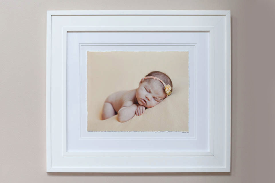 newborn framed print ideas, Rochester Newborn Photographer