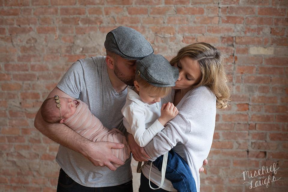 Newborn and family portrait, Canandaigua NY newborn photos