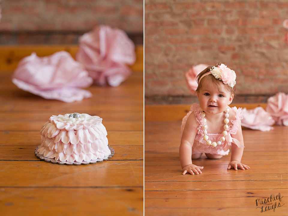 first birthday photos in Canandaigua NY, Cake smash