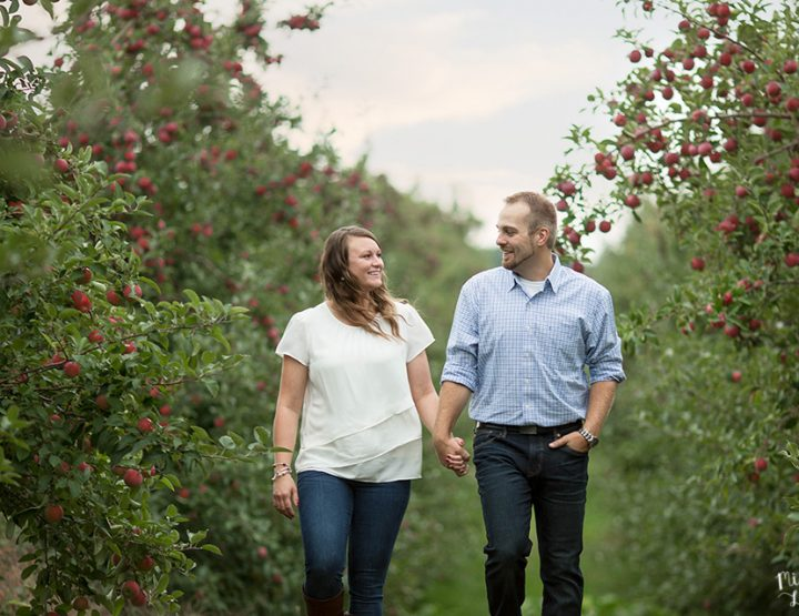 Apple of My Eye, Sodus Point Engagement Session