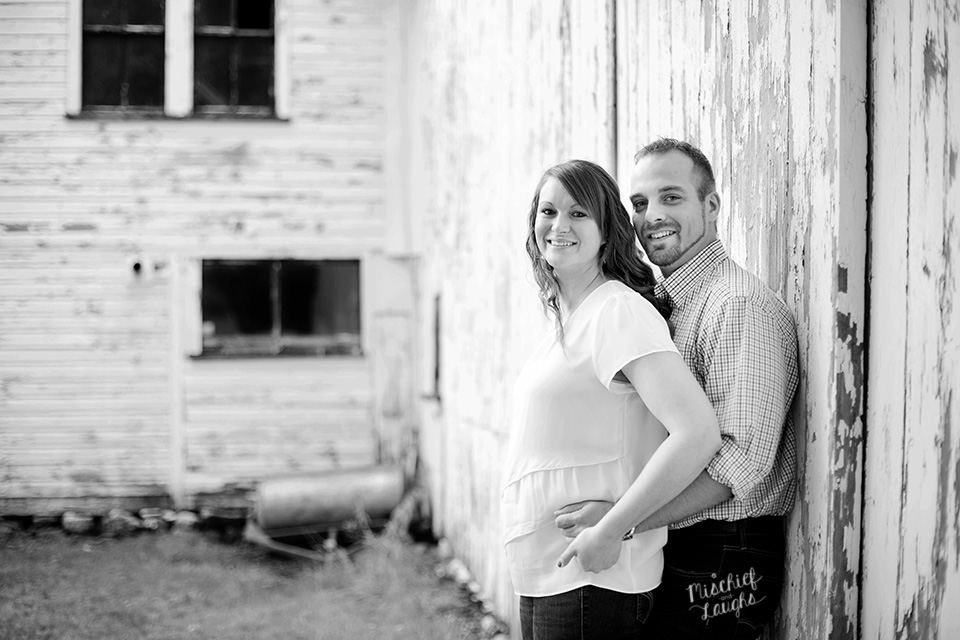 farm engagement session, Sodus Point NY, Mischief and Laughs Photography