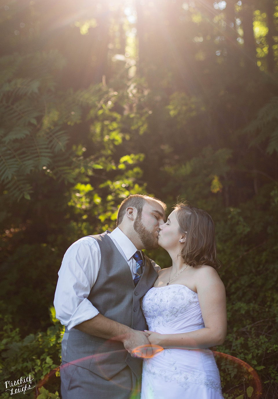 Pratt's Falls, Camp Brockway Wedding, Syracuse NY - Mischief and Laughs Photography