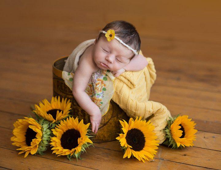Sunny, Rochester Newborn Photographer