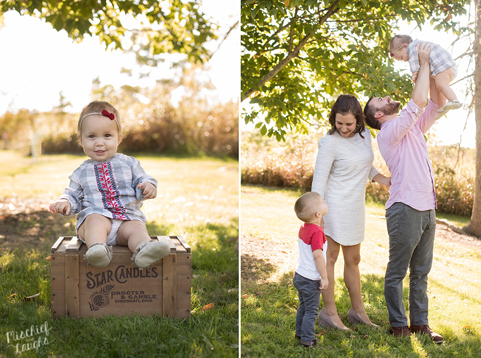 Finger Lakes Family Photographer, Mischief and Laughs, Canandaigua, NY