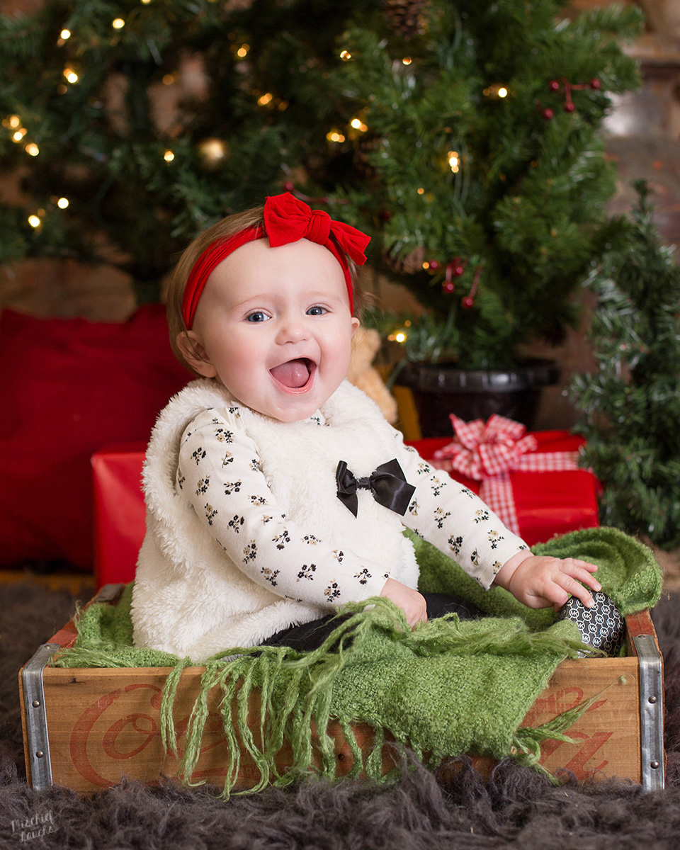 6 month old christmas session - What To Get A 6 Month Old For Christmas
