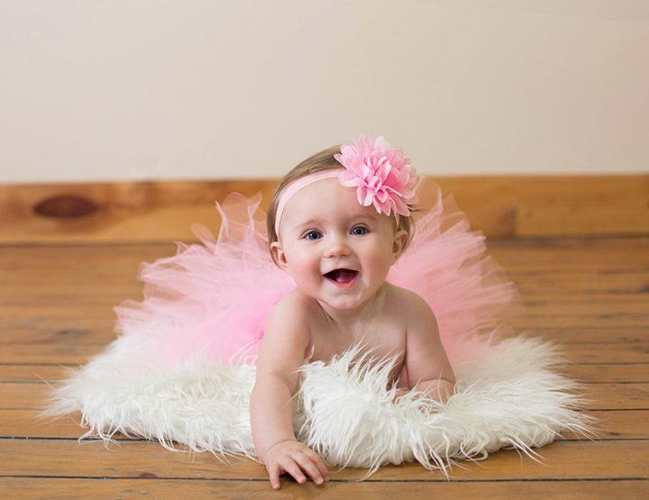 Sweet Pea, 6 Month Baby Photo Session