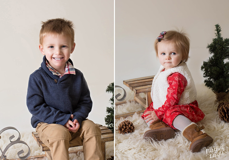 Children's photography Canandaigua NY, Christmas photos