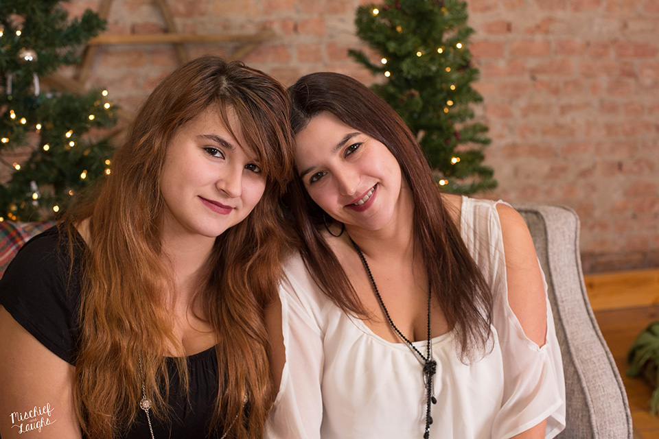 Mother and Teenage Daughter Photos, Canandaigua Photo Studio, Canandaigua NY