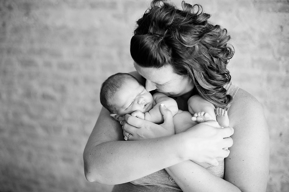 Mother and baby photographer, Rochester NY Newborn Photographer, Mischief and Laughs Photography