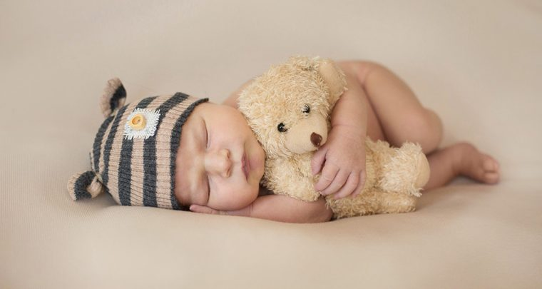 Teddy Bear, Canandaigua NY Newborn Photographer