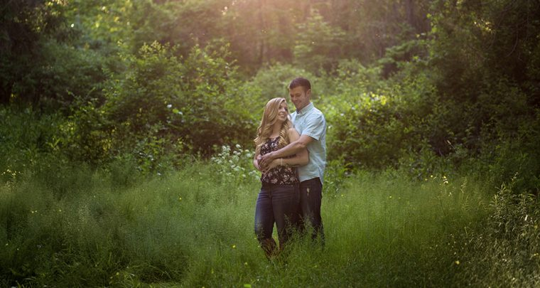 The One with the Canoe, Finger Lakes Engagement Photographer